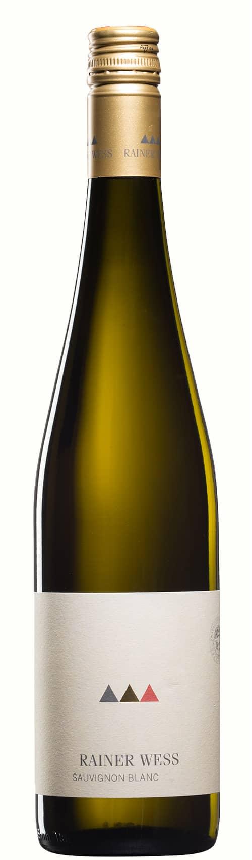 Weinflasche Sauvignon blanc Weingut Wess